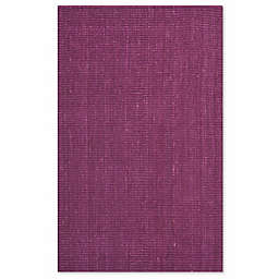 Safavieh Natural Fiber 6-Foot x 9-Foot Mallory Area Rug in Purple