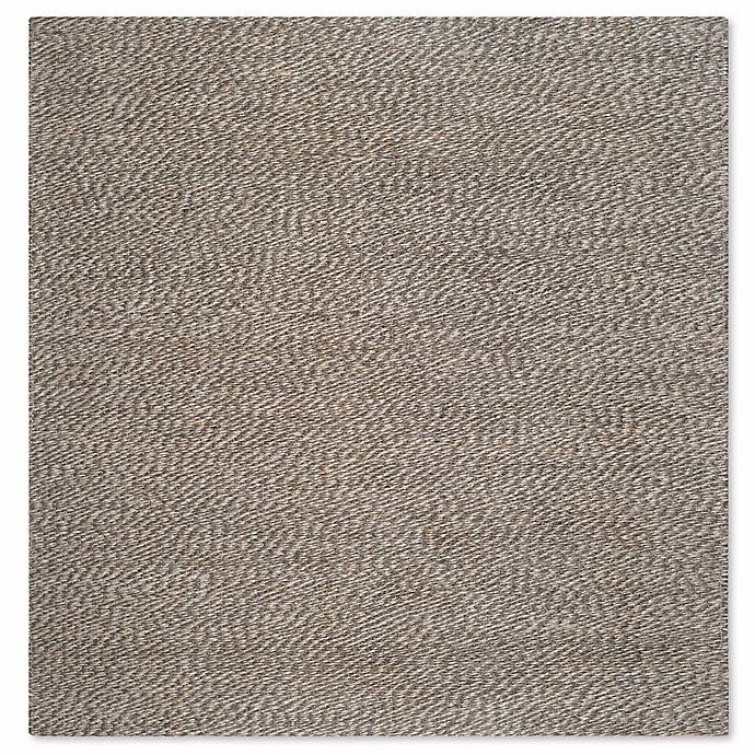 Alternate image 1 for Safavieh Natural Fiber 6-Foot Square Penelope Rug in Grey