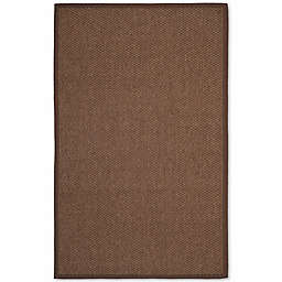 Safavieh Natural Fiber Shannon 9-Foot x 12-Foot Area Rug in Chocolate