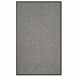 Safavieh Jacqueline 5-Foot x 8-Foot Natural Fiber Area Rug in Grey/Dark Grey