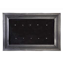 Rubber Door Mat Insert Frame in Black