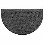 Weather Guard™ Argyle 20-Inch x 30-Inch Half Oval Door in Charcoal