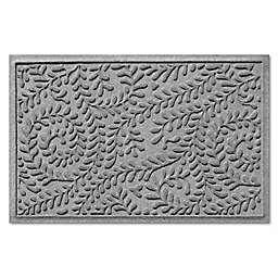 Weather Guard™ Boxwood Floor Mat in Medium Grey