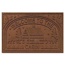 Weather Guard™ Welcome Cabin Floor Mat in Dark Brown