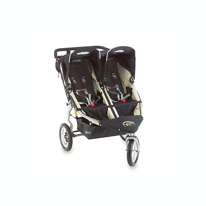 "BOB® Revolution Black 12"" All Wheel Duallie Stroller and ..."