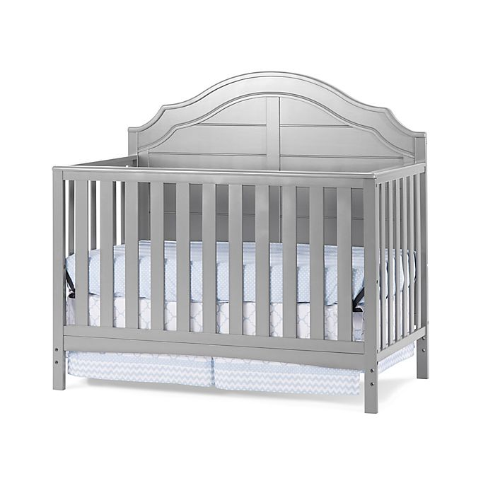 Alternate image 1 for Child Craft™ Penelope 4-in-1 Convertible Crib in Cool Grey