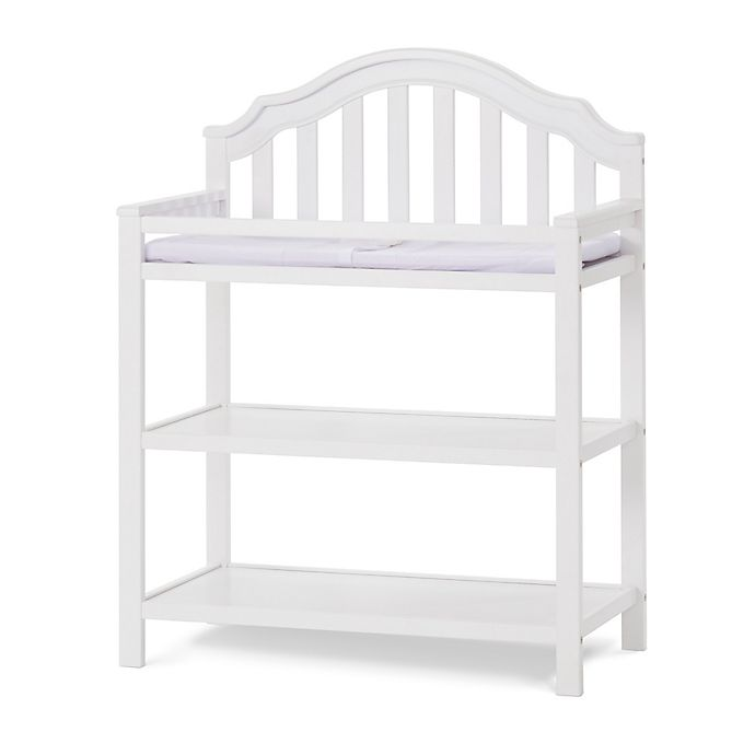 Alternate image 1 for Child Craft™ Penelope Changing Table in Matte White