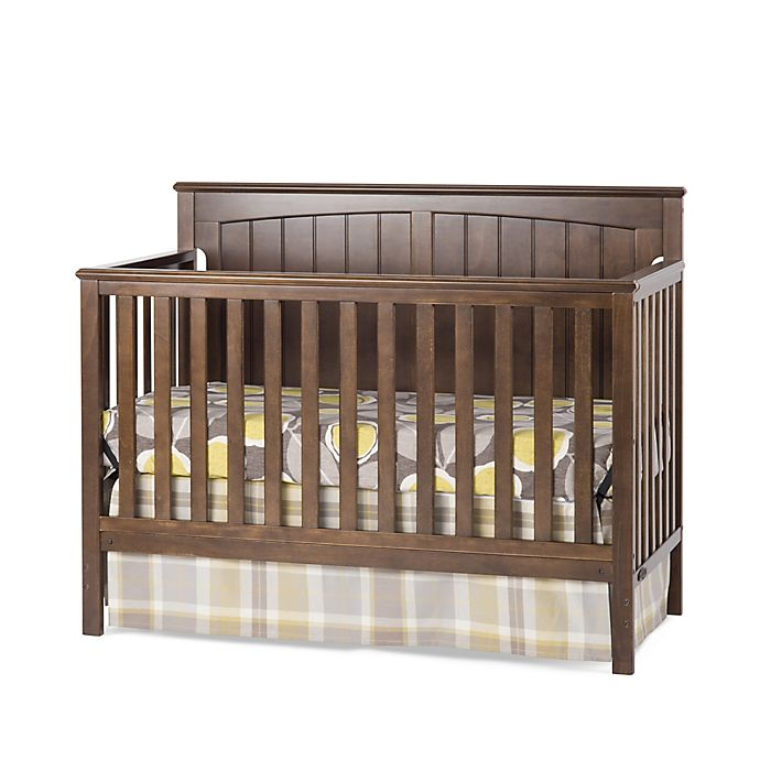 Alternate image 1 for Craft Child™ Sheldon 4-in-1 Convertible Crib in Slate Brown