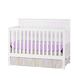 Craft Child™ Sheldon 4-in-1 Convertible Crib in Matte White