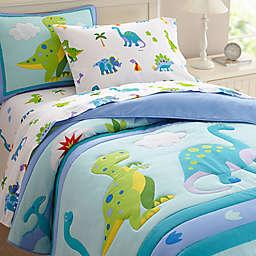 Olive Kids Dinosaur Land Bedding in Blue