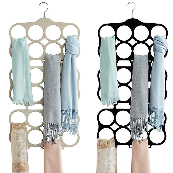 Alternate image 1 for Real Simple® Flocked Cascading Scarf Hanger