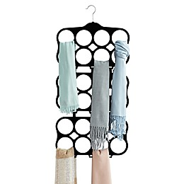 Real Simple® Velvet Cascading Scarf Hanger in Black