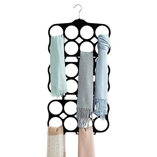 Alternate image 1 for Real Simple® Velvet Cascading Scarf Hanger