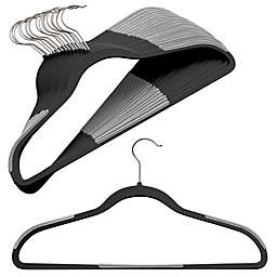 Studio 3B™ Slim Grips™ Clothing Hangers in Black (Set of 16)