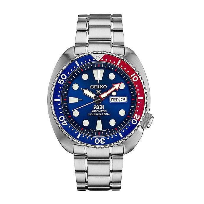 Alternate image 1 for Seiko Men's 45mm Automatic Driver Prospex Watch in Stainless Steel with Blue Dial