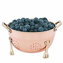 Old Dutch International Copper-Plated Berry Colander