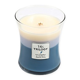 Woodwick® Trilogy Beachfront Cottage Medium Jar Candle