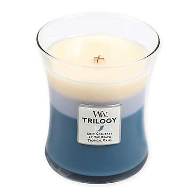Woodwick® Trilogy Beachfront Cottage Medium Jar Candle