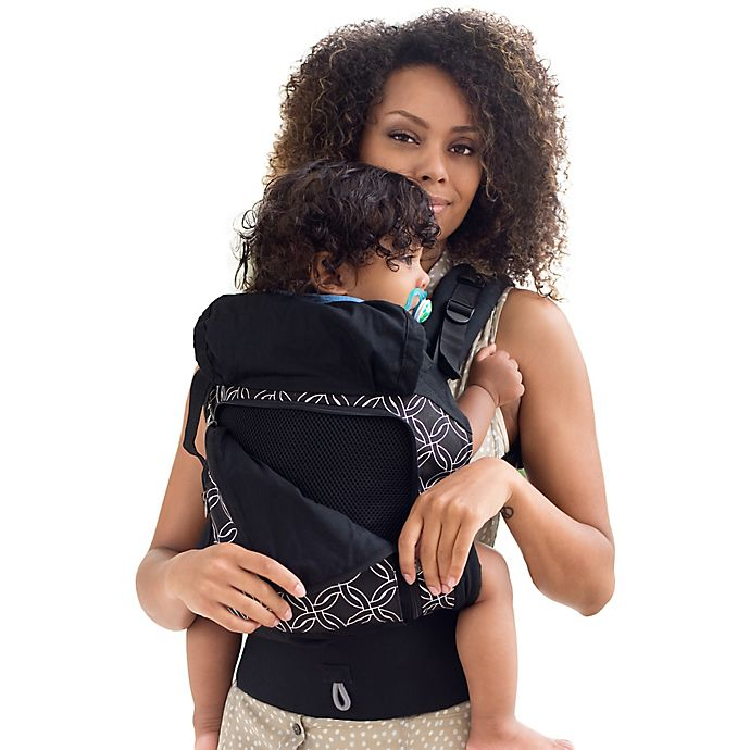 f93263d35f7 lillebaby® ESSENTIALS™ All Seasons Baby Carrier in Black Circle of Love