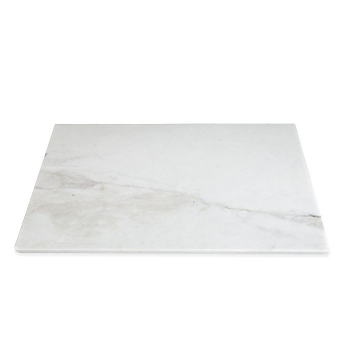 Alternate image 1 for Evco International 12-Inch x 18-Inch Marble Pastry/Cutting Board
