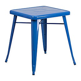 Flash Furniture 27.75-Inch Square Metal Indoor/Outdoor Table