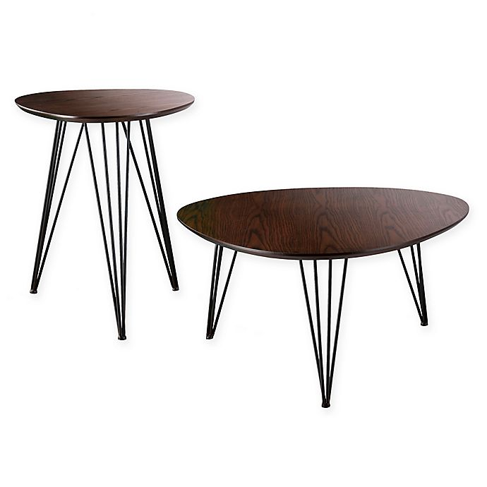 Alternate image 1 for Holly & Martin® Bannock 2-Piece Table Set in Black