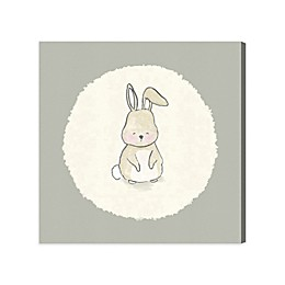 Olivia's Easel 43-Inch x 43-Inch Bunny Canvas Wall Art