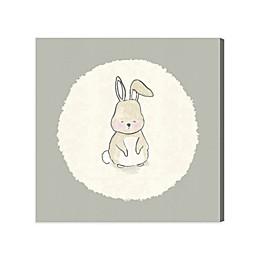 Olivia's Easel 43-Inch x 43-Inch Bunny Canvas Wall Art