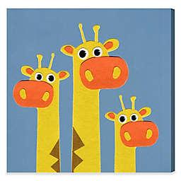 Olivia's Easel Giraffe Canvas Wall Art