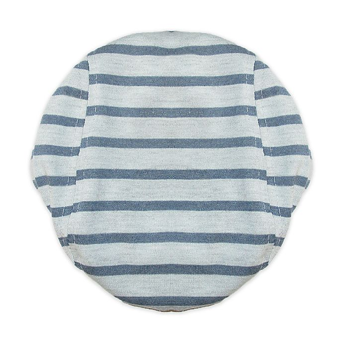 Alternate image 1 for So'Dorable Size 6-12M Cabbie Hat in Grey/ Navy