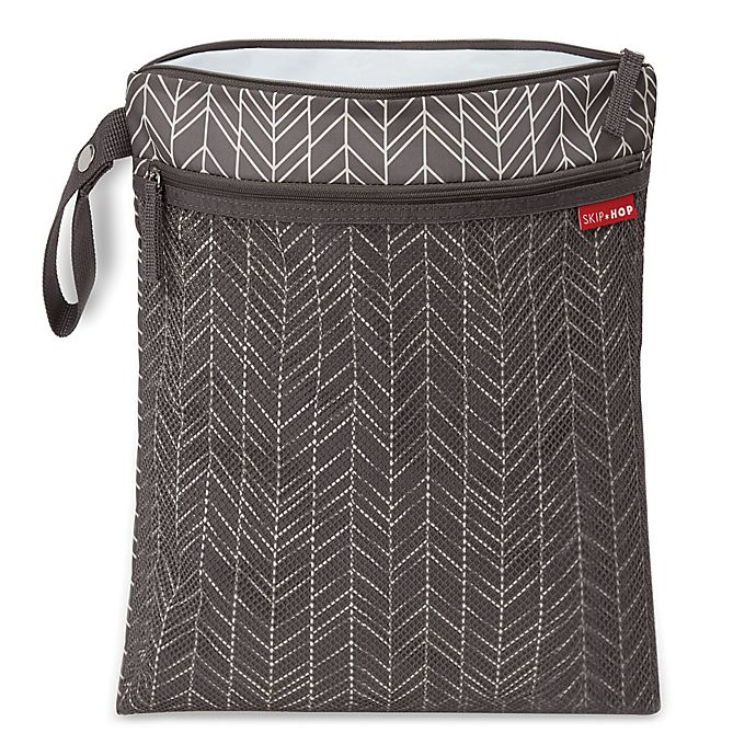 Alternate image 1 for SKIP*HOP® Grab & Go Wet/Dry Bag in Feather Grey