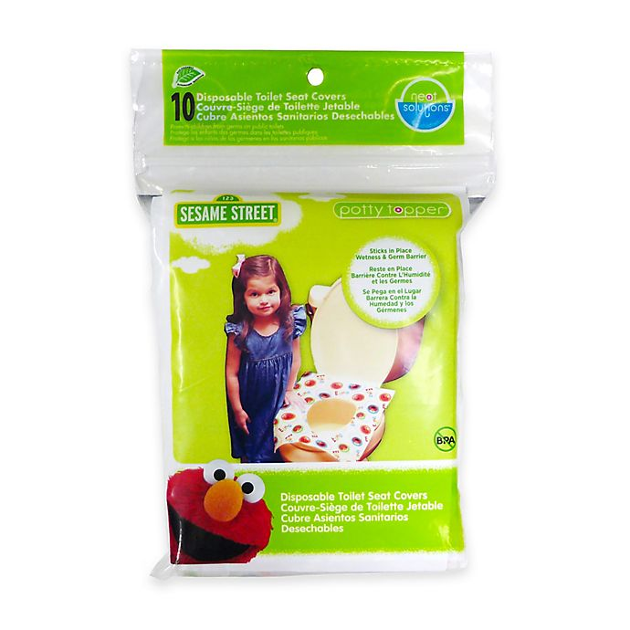 Alternate image 1 for Neat Solutions® Sesame Street® Potty Topper® in Pack of 10