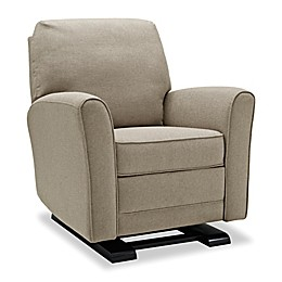 Bertini® Raine Gliding Recliner in Beige