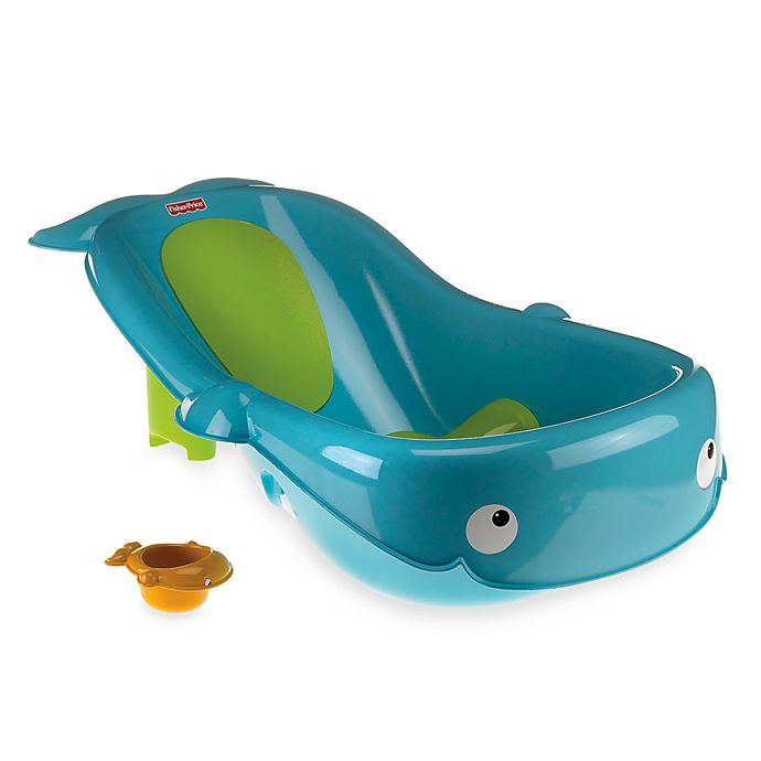 Alternate image 1 for Fisher-Price® Precious Planet Whale of a Tub™ Newborn to Toddler Bath Tub