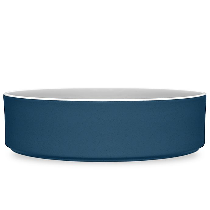 Alternate image 1 for Noritake® ColorTrio Stax Serving Bowl in Blue/Grey