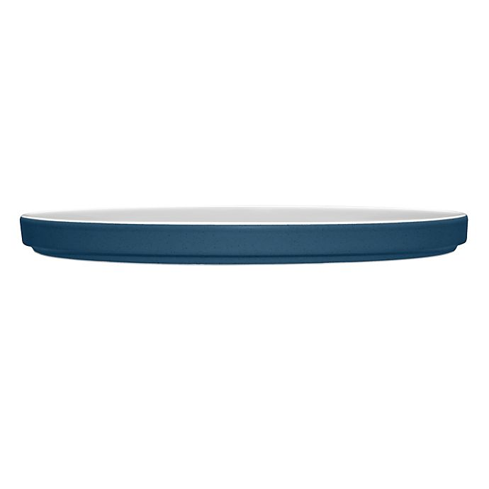 Alternate image 1 for Noritake® ColorTrio Stax Dinner Plate in Blue/Grey