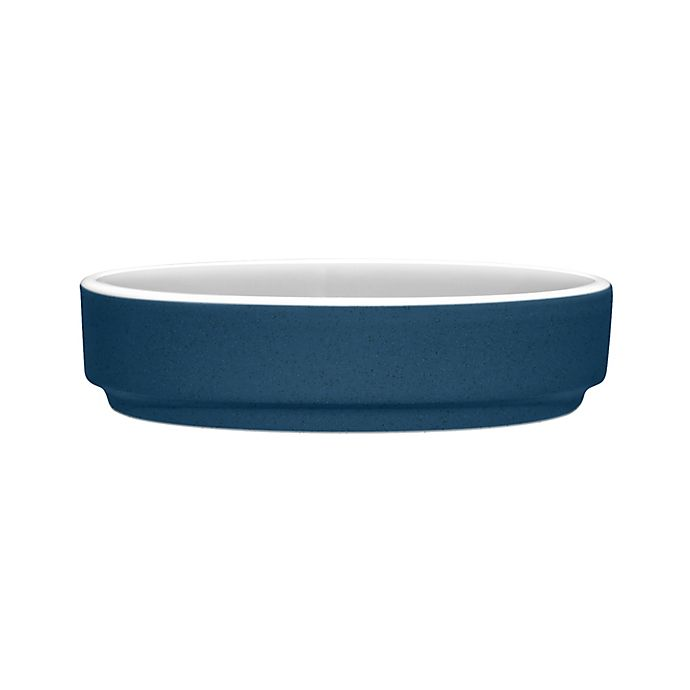 Alternate image 1 for Noritake® ColorTrio Stax Mini Plate in Blue/Grey