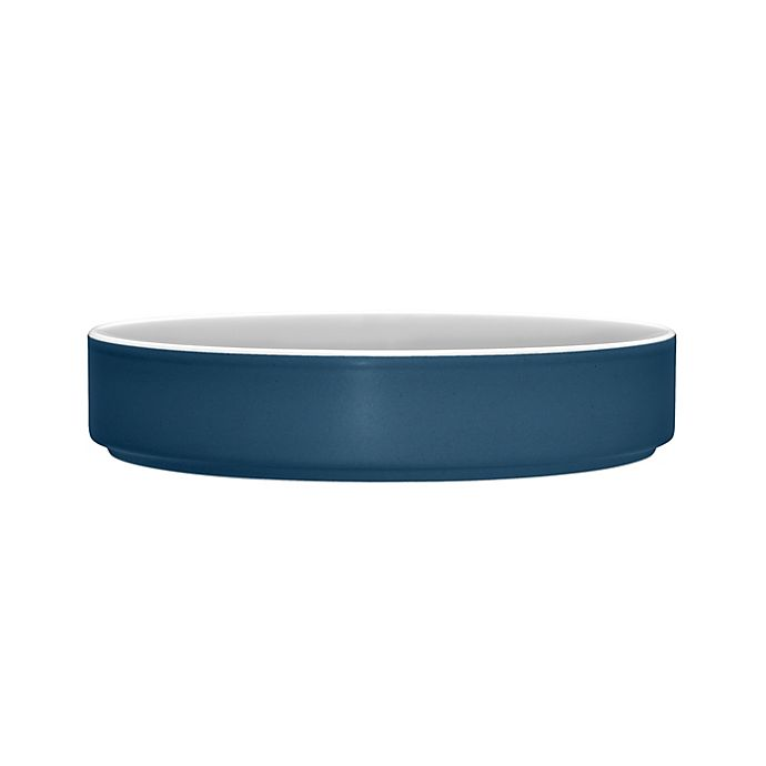 Alternate image 1 for Noritake® ColorTrio Stax Deep Plate in Blue/Grey