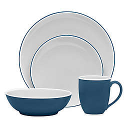Noritake® ColorTrio Coupe 4-Piece Place Setting in Blue