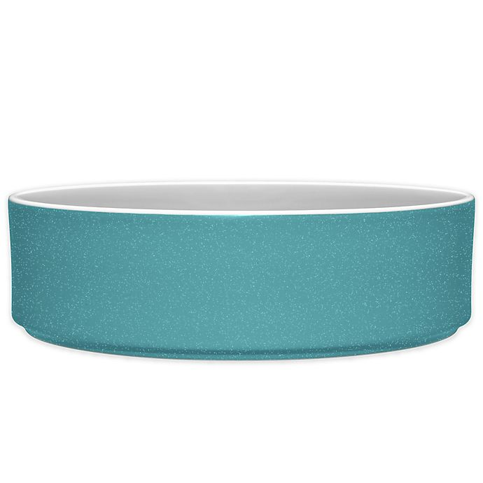 Alternate image 1 for Noritake® ColorTrio Stax Serving Bowl in Turquoise