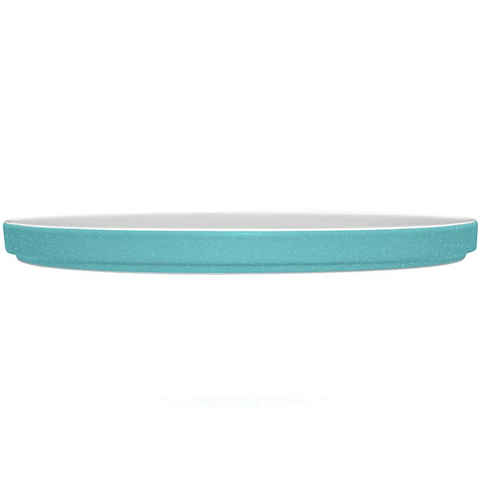 Alternate image 1 for Noritake® ColorTrio Stax Dinner Plate in Turquoise