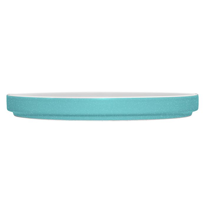 Alternate image 1 for Noritake® ColorTrio Stax Salad Plate in Turquoise