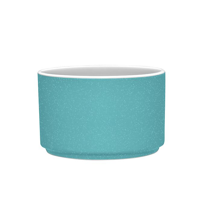Alternate image 1 for Noritake® ColorTrio Stax Mini Bowl in Turquoise