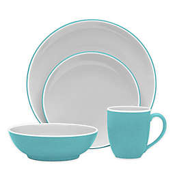 Noritake® ColorTrio Coupe Dinnerware Collection in Turquoise