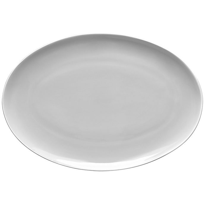 Alternate image 1 for Noritake® ColorTrio Coupe 16-Inch Oval Platter in Turquoise