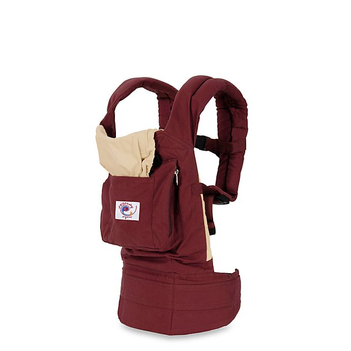 942fee7f538 ERGObaby® Organic Cranberry and Caramel Baby Carrier