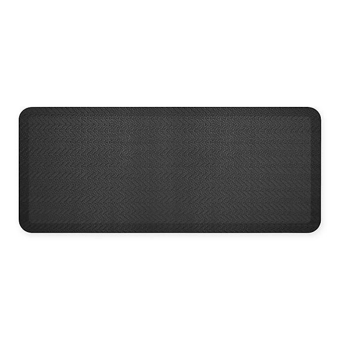Alternate image 1 for GelPro® NewLife® Sisal 20-Inch x 48-Inch Designer Comfort Mat in Black