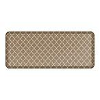 GelPro® NewLife® Lattice 20-Inch x 48-Inch Designer Comfort Mat in Tan