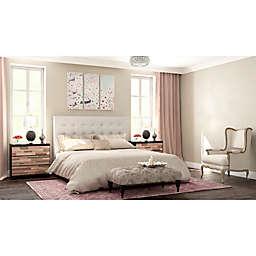 Glamorous Mosaic Bedroom