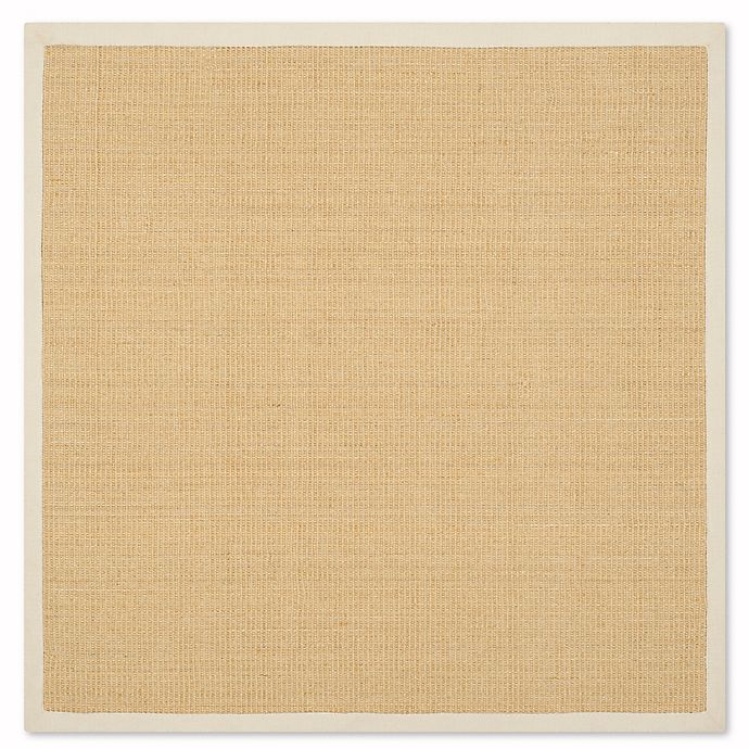 Alternate image 1 for Safavieh Natural Fiber Madeline 6-Foot Accent Rug in Maize/Wheat